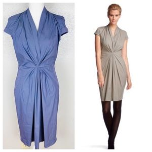Hugo Boss Dinola Pleated Shift Dress Size 4